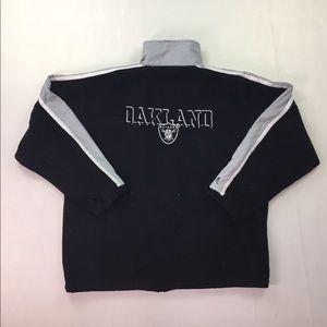 Oakland Raiders SpotLight Zip Up Fleece Jacket